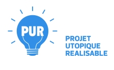 L'agence P.U.R vous propose des Projets Utopiques Réalisables. Le concept de cette agence est de faire connaître des idées, des solutions, des recherches à propos de sujets de société.Il est permis d'avoir des projets utopiques, idéaux, ambitieux et de les faire savoir.Si vous avez déjà imaginé d'autres façons de vivre ensemble, nous serons ravis de vous lire. Le projet est exponentiel, plus de personnes participent, plus nous en saurons sur les envies des citoyens, plus nous pourrons nous unir pour mettre en place des P.U.R idées. Consulter les annonces P.U.R Si vous avez une proposition, Récupérer une fiche P.U.R à remplir Indiquer les informations concernant votre projet et vos coordonnées L'agence se chargera d'éditer votre fiche qui sera mise en ligne sur un blog.