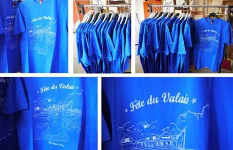Icone Home (Sérigraphie textile) – Amenez votre t-shirt pour vous faire imprimer un visuel spécialement réalisé pour la fête du Valais. http://www.icone-home.fr