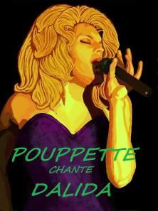 Pouppette (vedette de a chanson) - Pouppette revisite les standards de la varieté française en live, notamment le répertoire de Dalida.